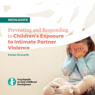 Preventing and Responding to Children's Exposure to Intimate Partner Violence